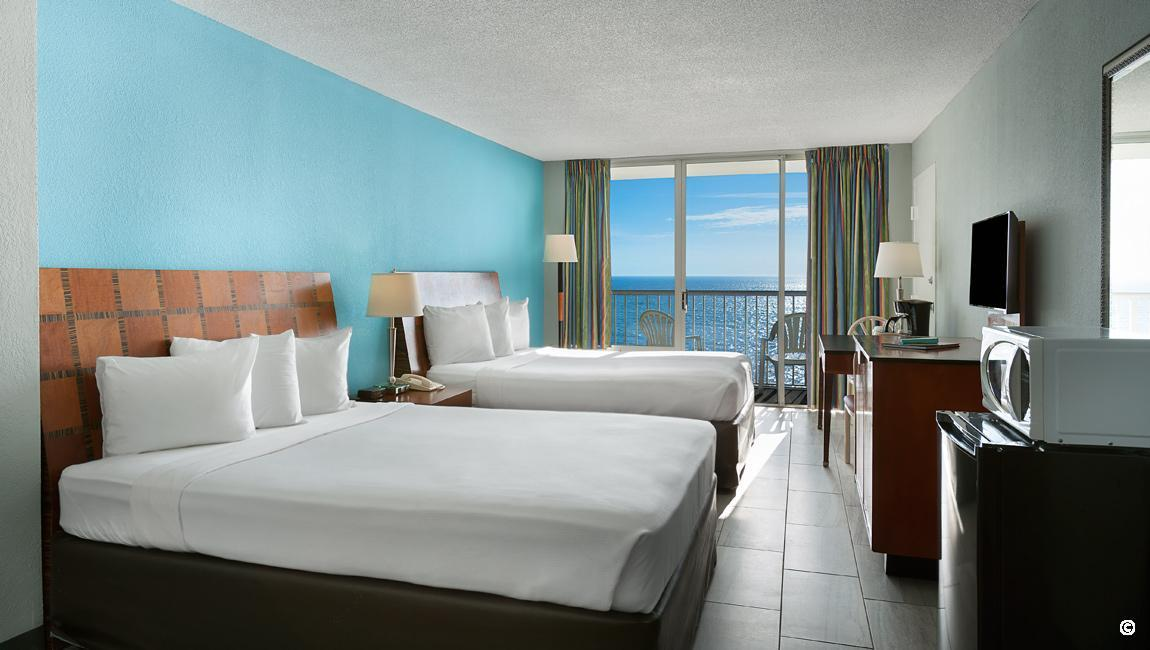 Myrtle Beach Accommodations Crown Reef Rooms Suites For