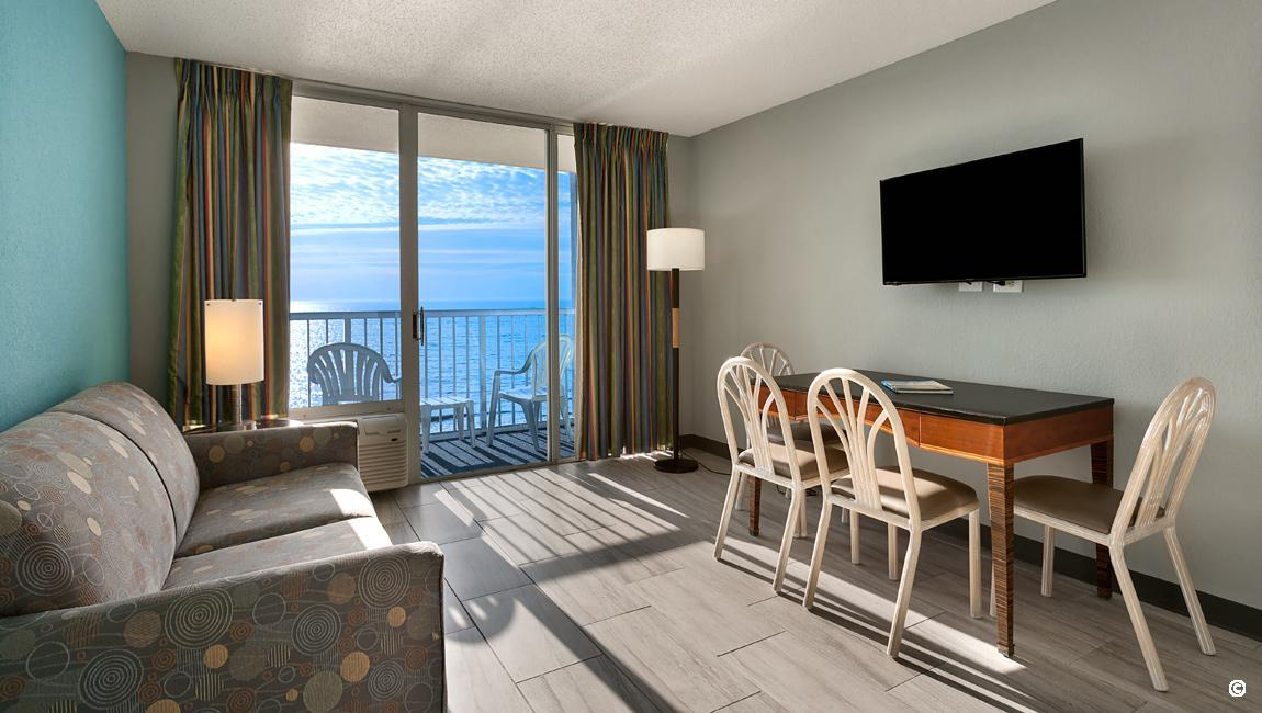 Oceanfront Suites In Myrtle Beach At Crown Reef Resort And