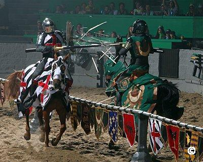 medieval times jousting