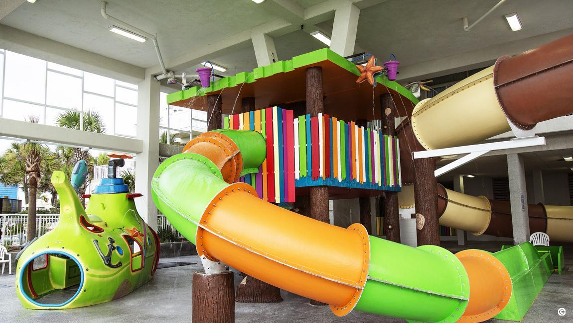Myrtle Beach Family Resorts - Kid's Slide