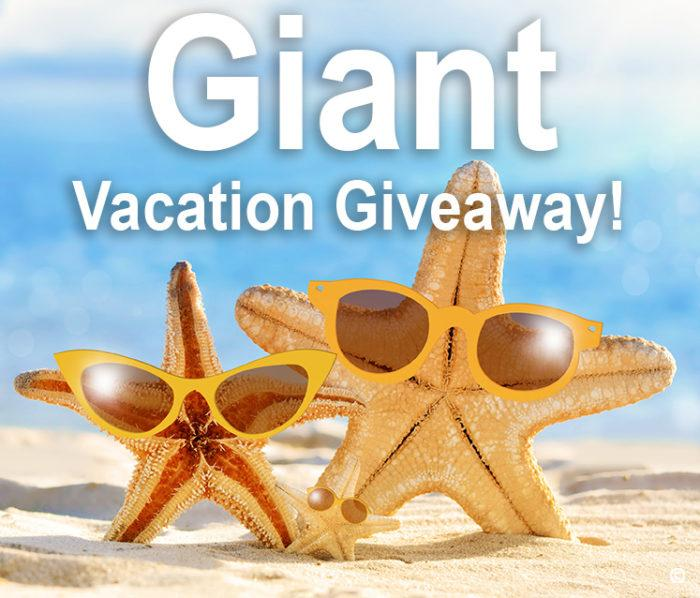 Giant Vacation Giveaway