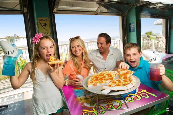 loco gecko beach shak restaurant at crown reef resort