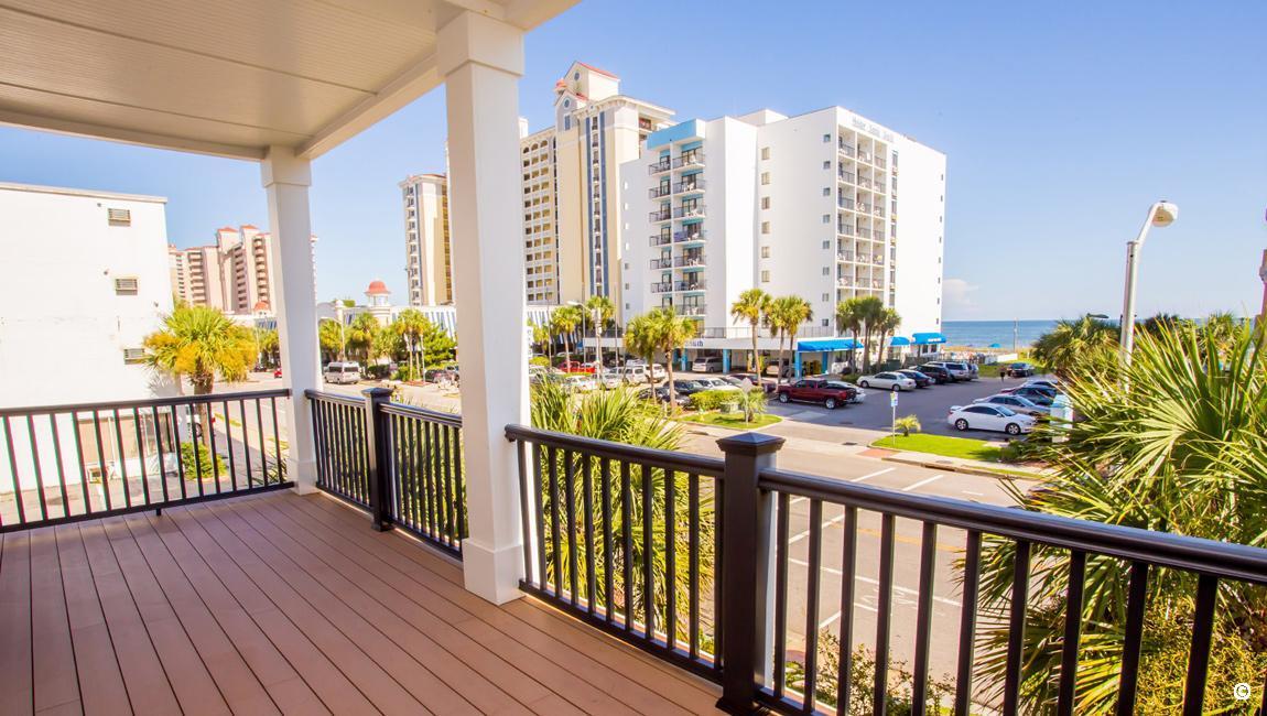 Beach House Balcony
