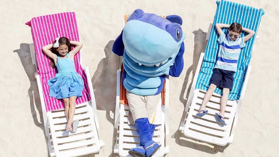Resort Activities Salty and Kids